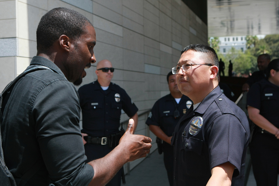 minorities and policing It's not clear that just adding minorities makes a police force more empathetic.